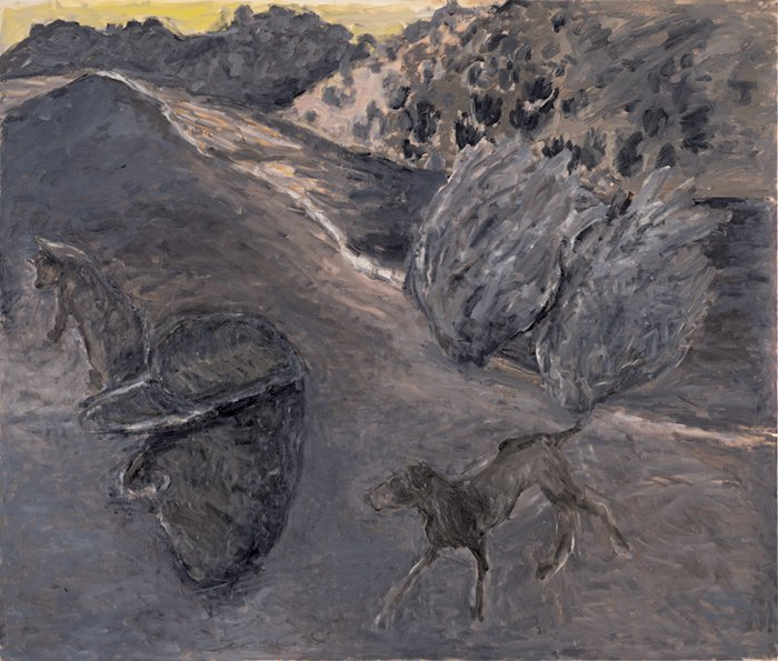 <strong>Susan Rothenberg</strong>, <em>Headscape</em>, 2003