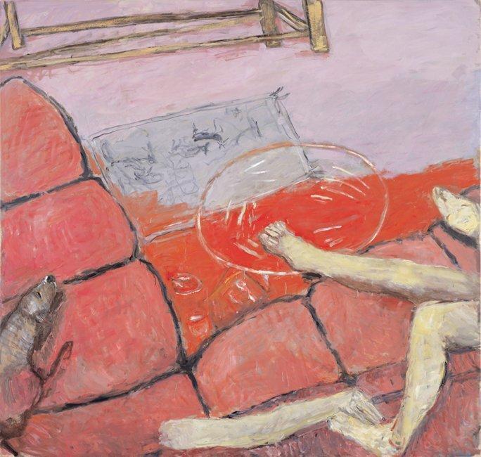 <strong>Susan Rothenberg</strong>, <em>Pink Couch</em>, 2003