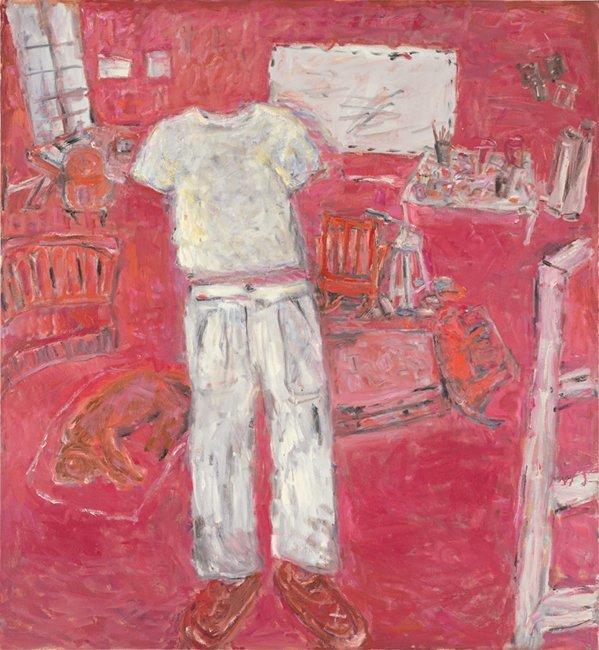 <strong>Susan Rothenberg</strong>, <em>Red Studio</em>, 2002-2003