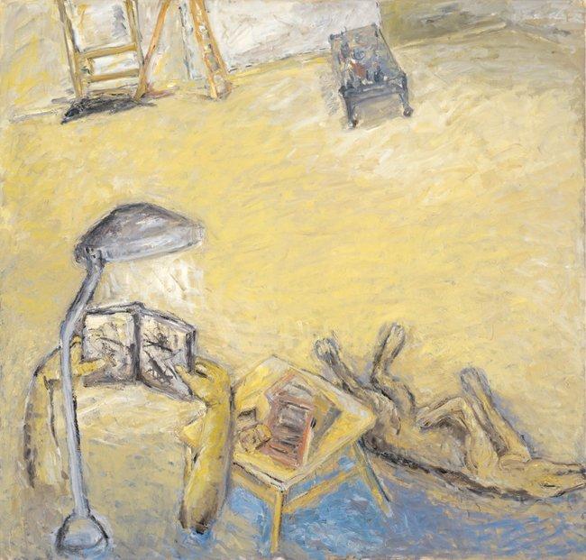 <strong>Susan Rothenberg</strong>, <em>Yellow Studio</em>, 2002-2003