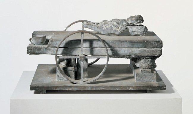 <strong>Mimmo Paladino</strong>, <em>Il Pane Della Storia</em>, 1988