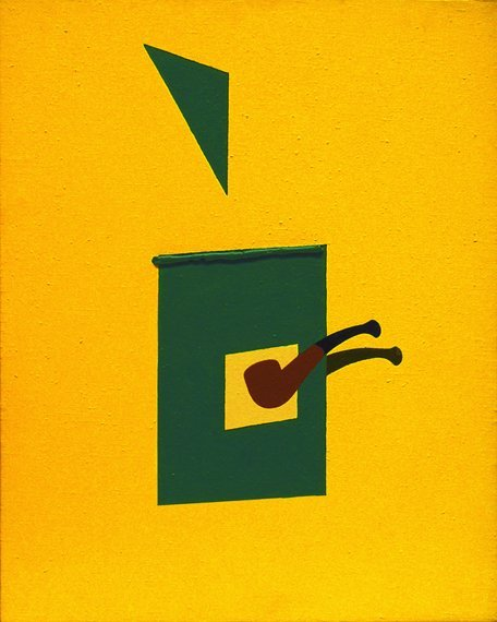 <strong>Patrick Caulfield</strong>, <em>Pipe & Blind</em>, 1990