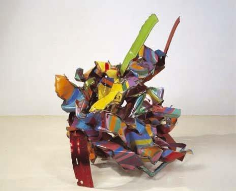 <strong>John Chamberlain</strong>, <em>Quince Cameo</em>, 2001