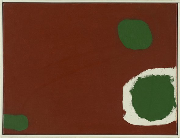 Dull Brown with Green and White : October 1962