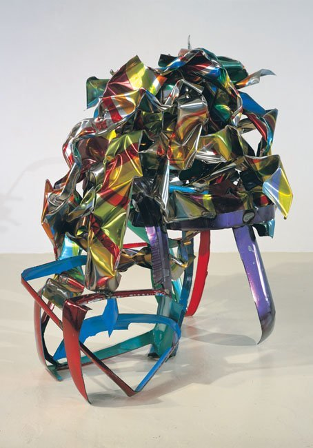 <strong>John Chamberlain</strong>, <em>Cautious Maniac</em>, 2001