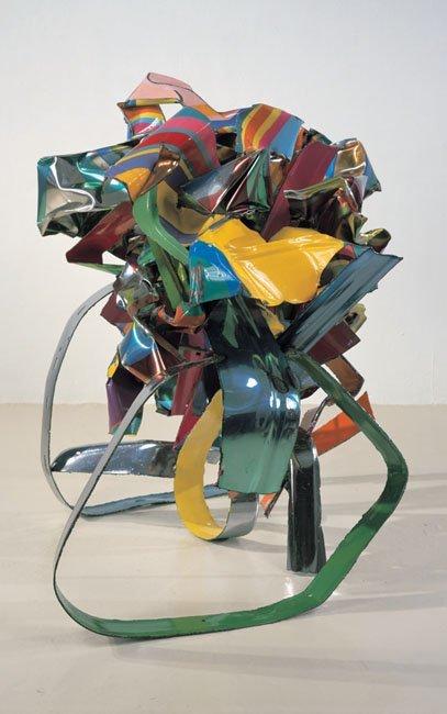 <strong>John Chamberlain</strong>, <em>Waltzing with Mr. Eye</em>, 2001