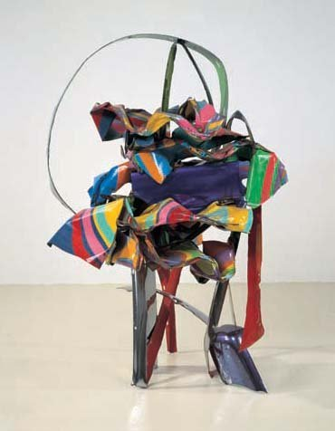 <strong>John Chamberlain</strong>, <em>Dashing Bag Man</em>, 2001