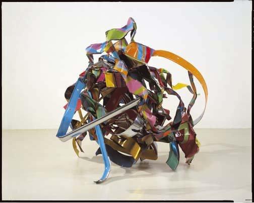 <STRONG>John Chamberlain</STRONG>, <EM>Fog Rivets</EM>, 2001