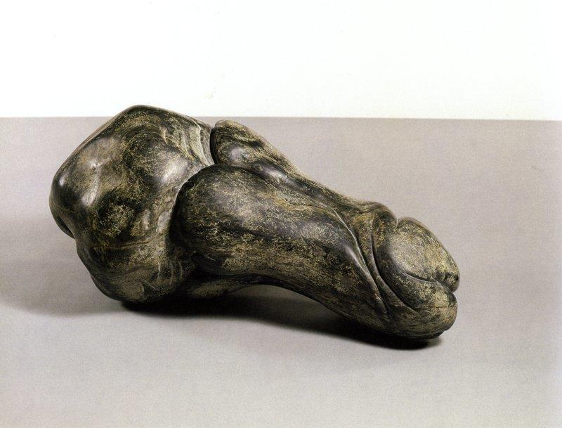 <strong>Barry Flanagan</strong>, <em>Carving No.3</em>, 1982