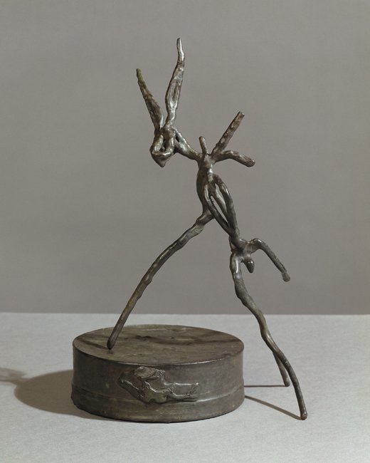 <strong>Barry Flanagan</strong>, <em>Hare Theme C III</em>, 2002