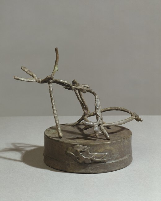 <strong>Barry Flanagan</strong>, <em>Hare Theme D VI</em>, 2002