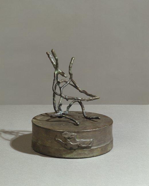 <strong>Barry Flanagan</strong>, <em>Hare Theme D VII</em>, 2002