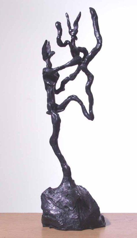 <strong>Barry Flanagan</strong>, <em>Tango</em>, 2001