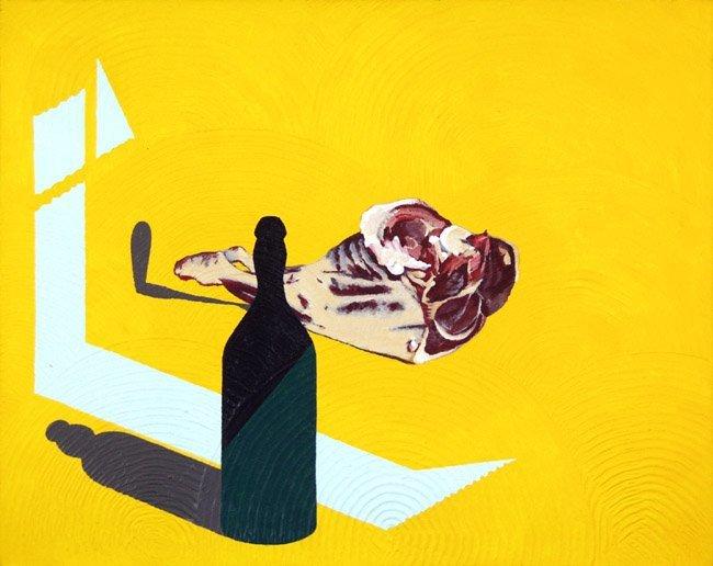 <strong>Patrick Caulfield</strong>, <em>Bottle of Oil & Lamb</em>, 1993