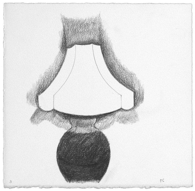 <strong>Patrick Caulfield</strong>, <em>Lamp Study no.3</em>, 1991