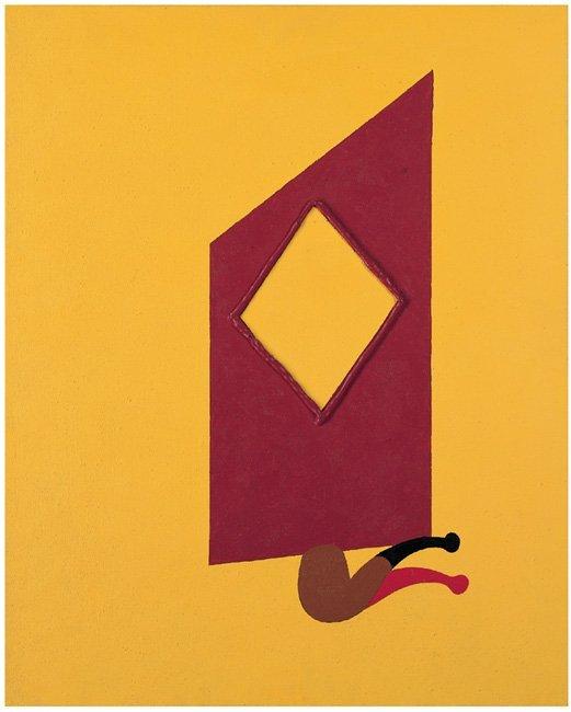 <strong>Patrick Caulfield</strong>, <em>Pipe & Diamond Shutter</em>, 1990