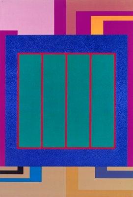 <strong>Peter Halley</strong>, <em>Loaded</em>, 2000