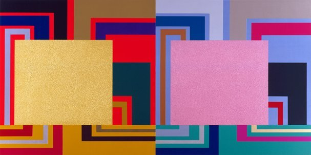 <strong>Peter Halley</strong>, <em>Ancillary Control</em>, 2001
