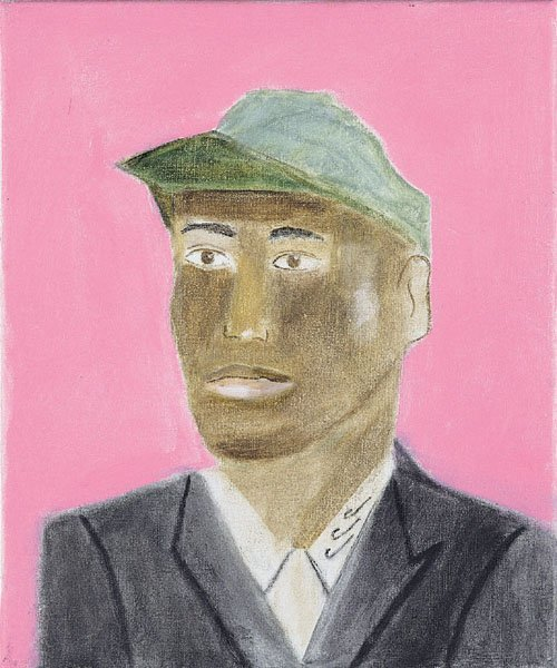 <strong>Craigie Aitchison</strong>, <em>Baba with Green Cap</em>, 2000