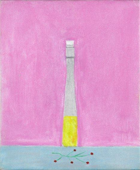 <strong>Craigie Aitchison</strong>, <em>Bottle and Berries, Montecastelli</em>, 2001