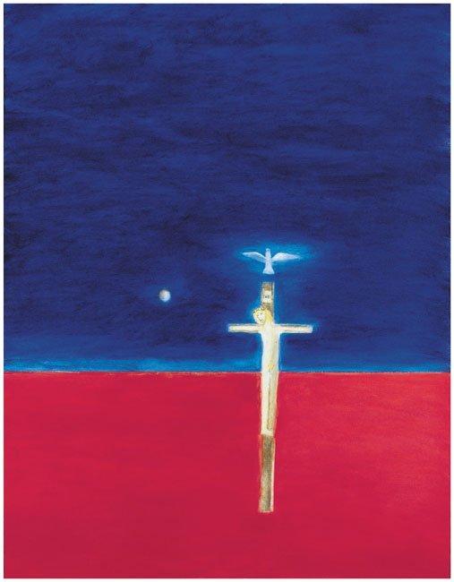 <strong>Craigie Aitchison</strong>, <em>Crucifixion</em>, 2001