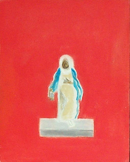 <strong>Craigie Aitchison</strong>, <em>One of the Wise Men (T002261)</em>, 2001