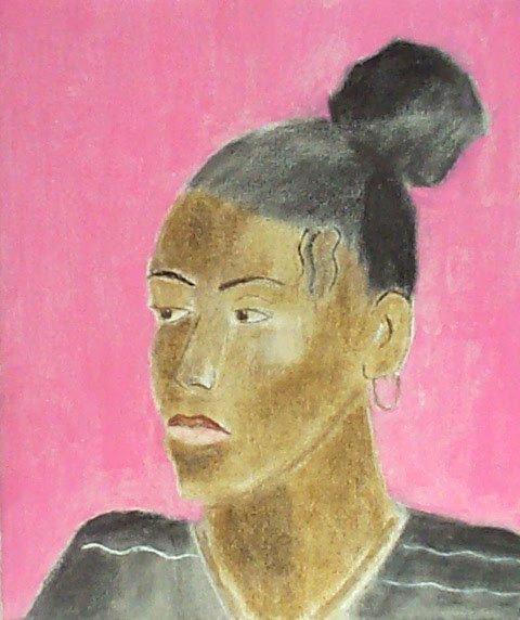 <strong>Craigie Aitchison</strong>, <em>Portrait of Sangeeta (T002287)</em>, 2001