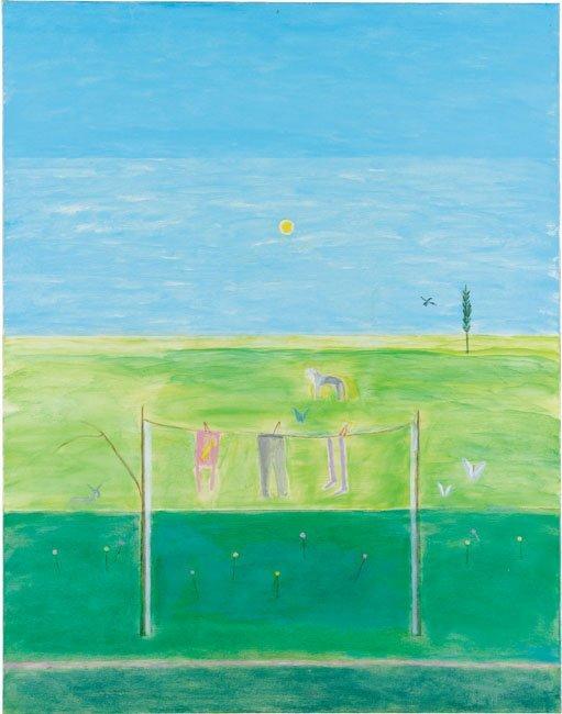 <strong>Cragie Aitchison</strong>, <em>Summer Washing Line Montecastelli (T002320)</em>, 2001