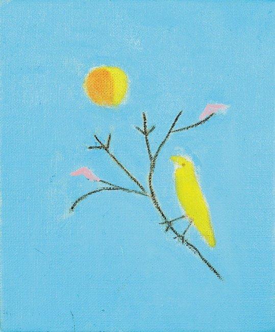 <strong>Craigie Aitchison</strong>, <em>Yellow Bird</em>, 2001