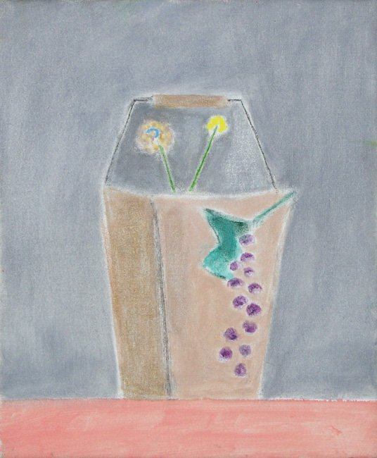 <strong>Craigie Aitchison</strong>, <em>Still Life I Montecastelli</em>, 2001