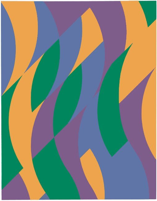 <strong>Bridget Riley</strong>, <em>Zambezi</em>, 1999