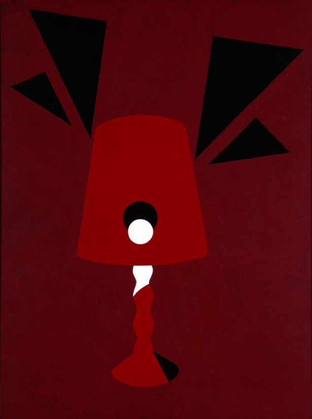 <strong>Patrick Caulfield</strong>, <em>Red Light</em>, 1990