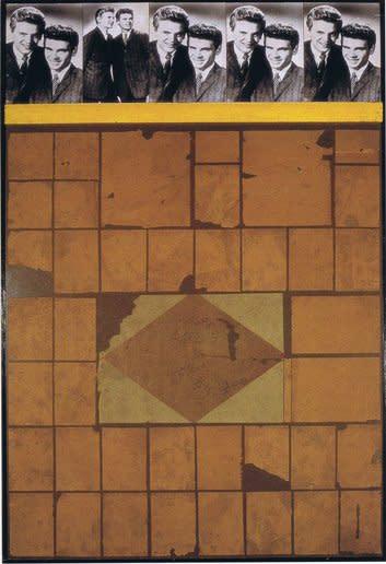 <strong>Peter Blake</strong>, <em>Everly Wall</em>, 1959