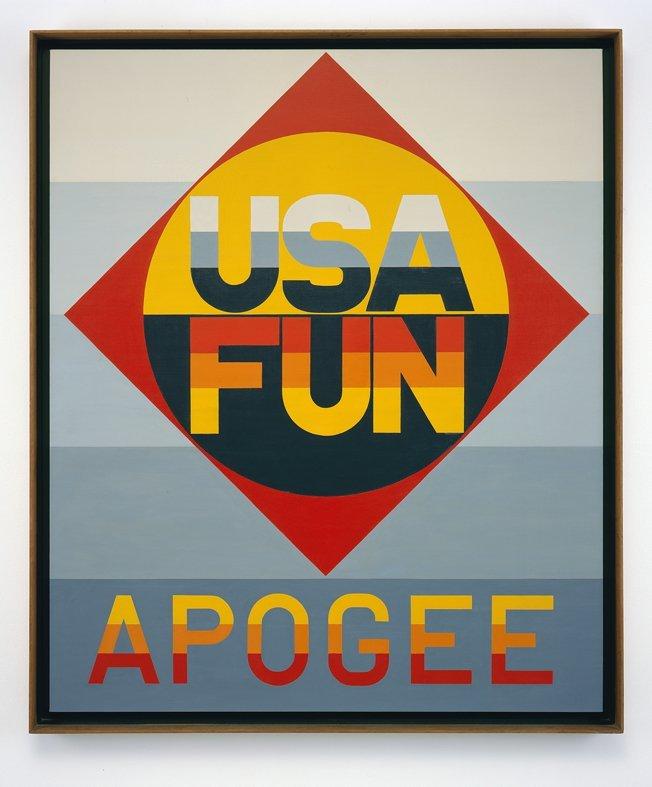 "<span class=""artist""><strong>Robert Indiana</strong></span>, <span class=""title""><em>Apogee</em>, 1970</span>"