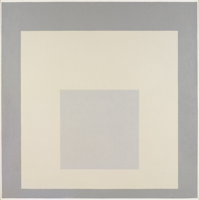 "<strong>Josef Albers</strong>, <em>Homage to the Square: ""Half Past"" (JAAF 1976.1.907)</em>, 1966"