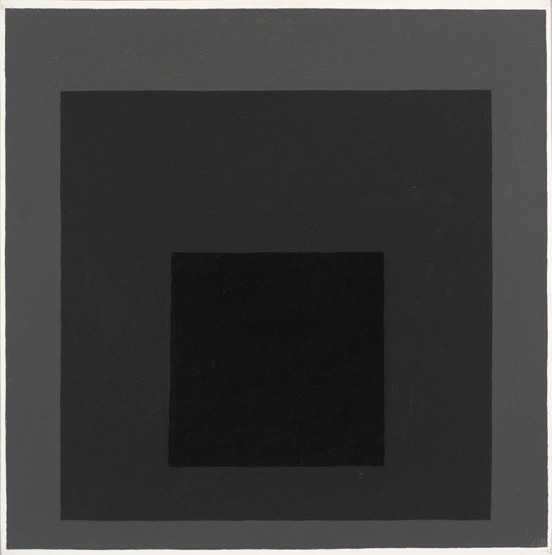 """<strong>Josef Albers</strong>, <em>Study for Homage to the Square: """"Late Exchange"""" (JAAF 1976.1.616)</em>, 1964"""
