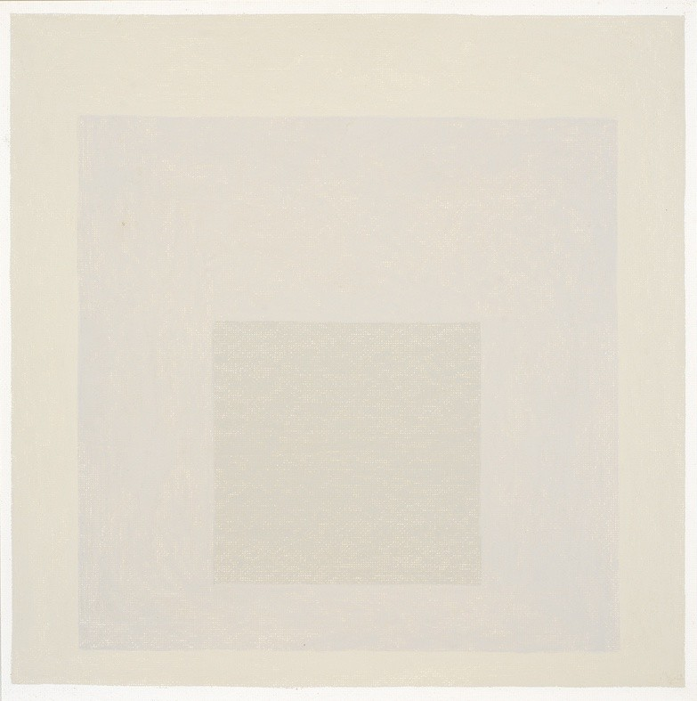 <strong>Josef Albers</strong>, <em>Homage to the Square [In Ivory Mist] (JAAF 1976.1.317)</em>, 1964