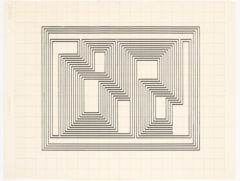 <strong>Josef Albers</strong>, <em>Study for Graphic Tectonic (JAAF 1976.3.218)</em>, c.1942