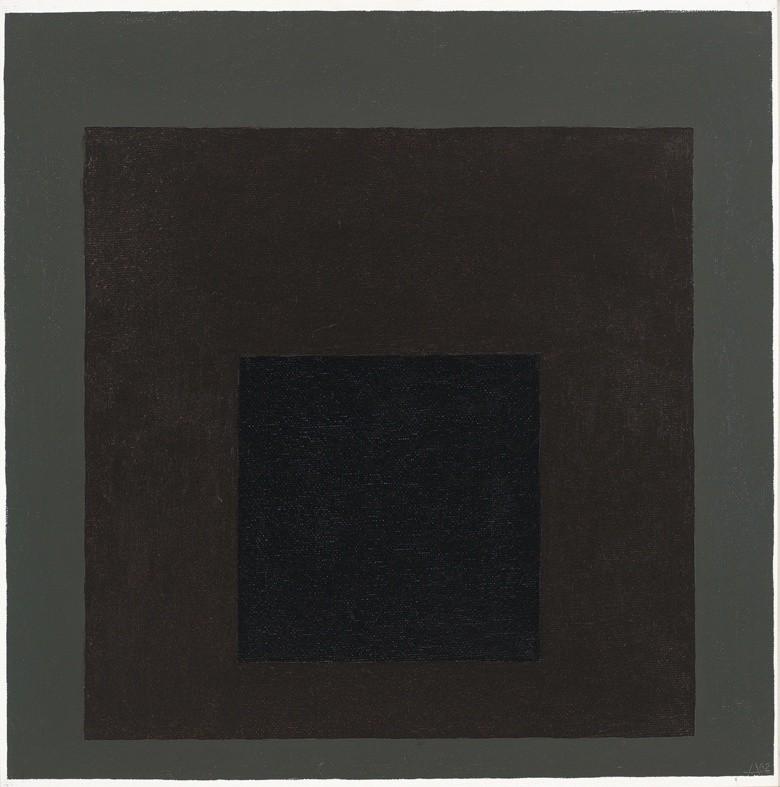 <strong>Josef Albers</strong>, <em>Homage to the Square (JAAF 1976.1.587)</em>, 1962