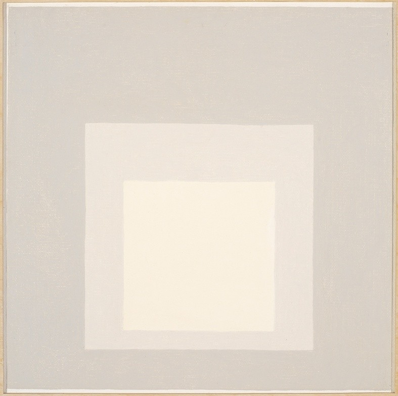 """<strong>Josef Albers</strong>, <em>Study for Homage to the Square: """"Penumbra"""" (JAAF 1976.1.1845)</em>, 1967"""