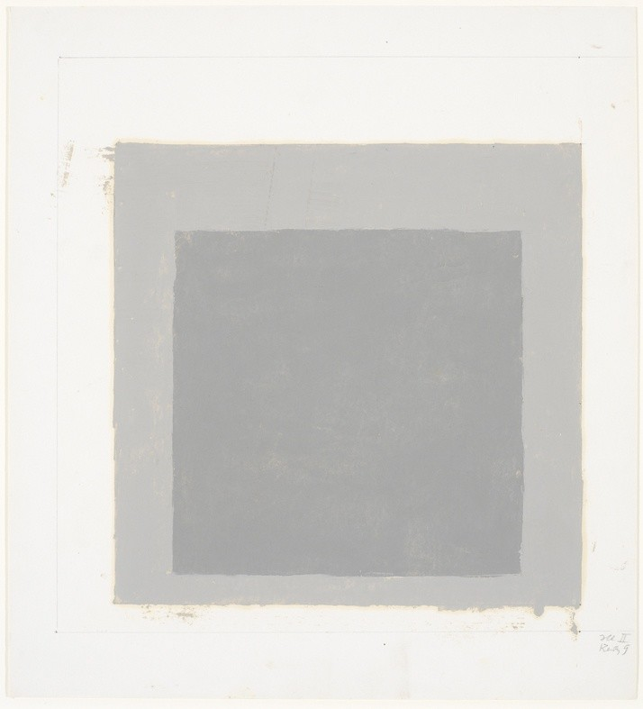 <strong>Josef Albers</strong>, <em>Study for a Homage to the Square (JAAF 1976.2.32)</em>, c.1962-69