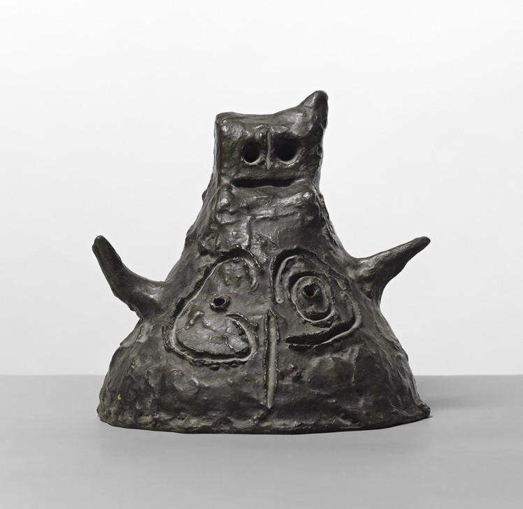 """<span class=""""artist""""><strong>Joan Miró</strong></span>, <span class=""""title""""><em>Femme / Woman</em>, 1970</span>"""