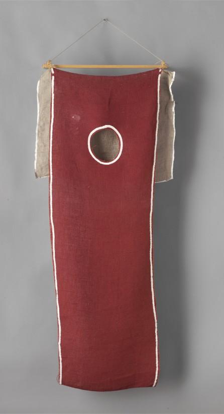 """<span class=""""artist""""><strong>Barry Flanagan</strong></span>, <span class=""""title""""><em>Dark Red 1</em>, 1973-78</span>"""