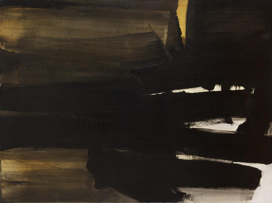 Peinture 97 x 130 cm, 16 novembre 1963