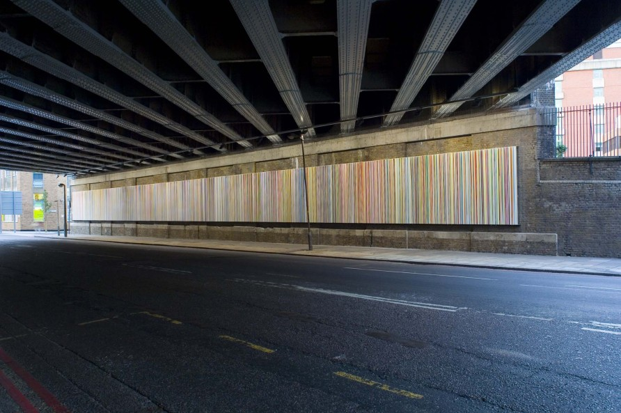 Poured Lines: Southwark Street