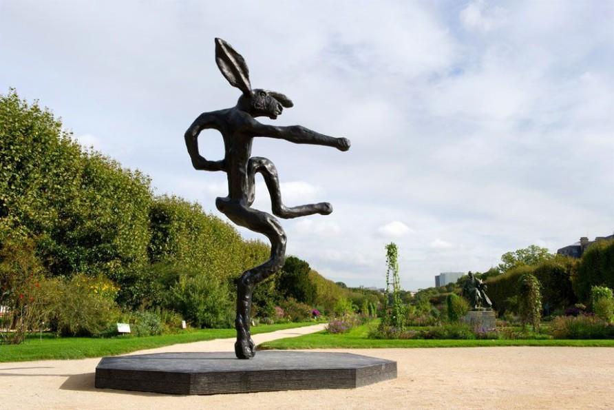 Nijinski Hare at Hors Les Murs, Fiac, 2013