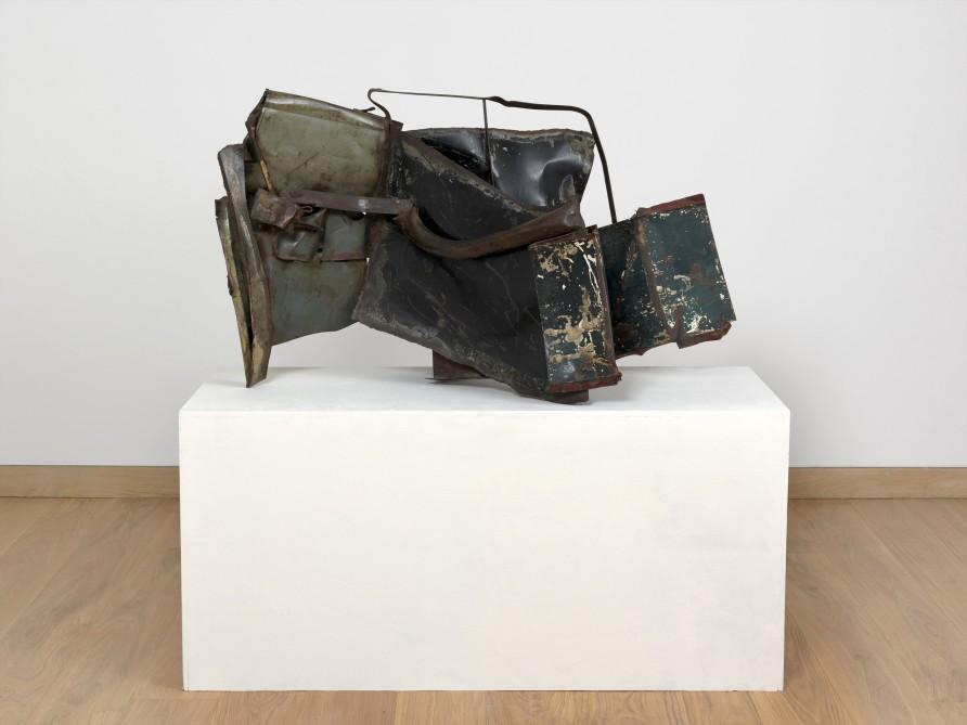 """<span class=""""artist""""><strong>John Chamberlain</strong></span>, <span class=""""title""""><em> Waller</em>, 1959</span>"""