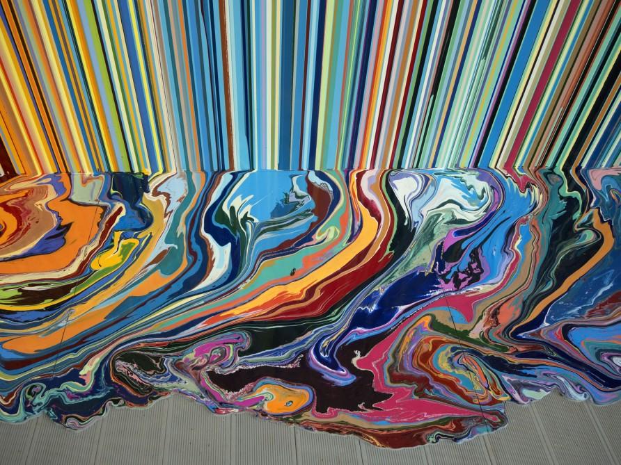 Detail of Giardini Colourfall