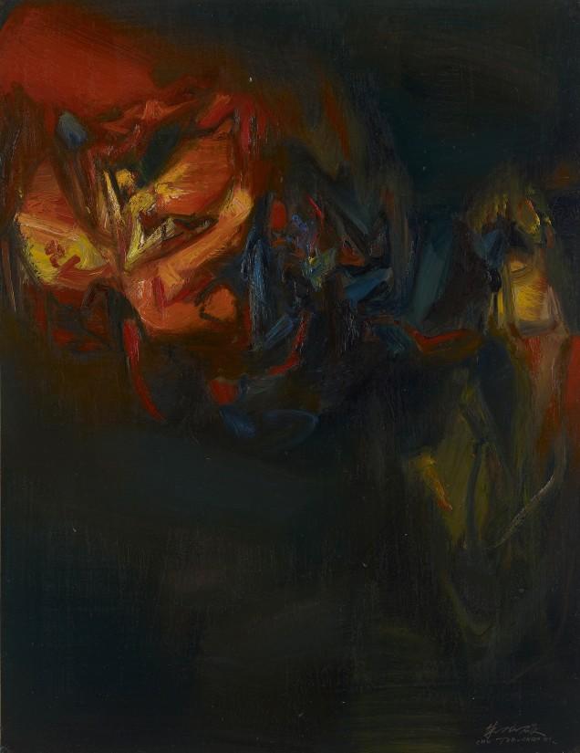 "<span class=""artist""><strong>Chu Teh-Chun</strong></span>, <span class=""title""><em>Untitled</em>, 1971</span>"