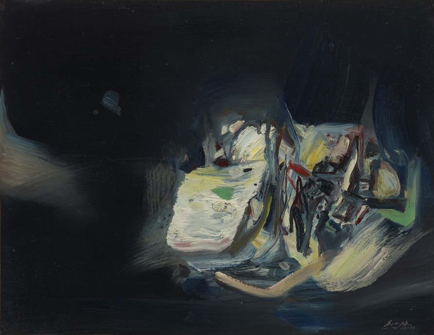"<span class=""artist""><strong>Chu Teh-Chun</strong></span>, <span class=""title""><em>Untitled</em>, 1972</span>"
